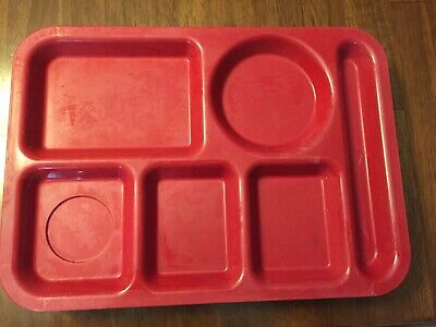 Vintage McDonalds Restaurant Food Serving Tray Brown Plastic 16X12 5 Available