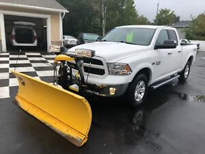 2014 Ram 1500 SLT FISHER PLOW PACKAGE