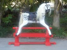 Hand carved Wooden Heirloom Rocking Horse Benaraby Gladstone City Preview