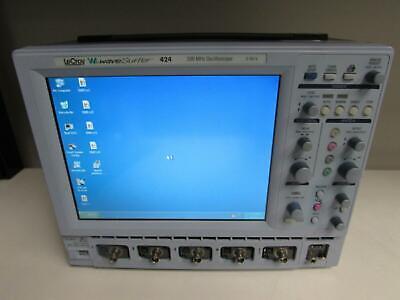Lecroy Wavesurfer 424 Oscilloscope 200mhz 4ch Opt L
