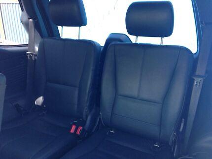 Mercedes Benz ml320 ml270 ml430 ml500 ml55 w163 black leather seats 7  Killarney Heights Warringah Area Preview