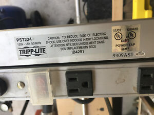 Tripp Lite PS7224 24 PORT Power Bar