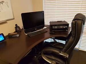 Criterion office desk and chair Meadow Springs Mandurah Area Preview