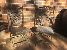 Outdoor iron chairs Grasmere Camden Area Preview