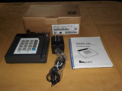 Store Pos Point Of Sale Tranz 330 Credit Card Terminal Magnet Stripe Reader