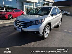 2013 Honda CR-V Touring TOURING EDITION! LEATHER! NAVIGATION!
