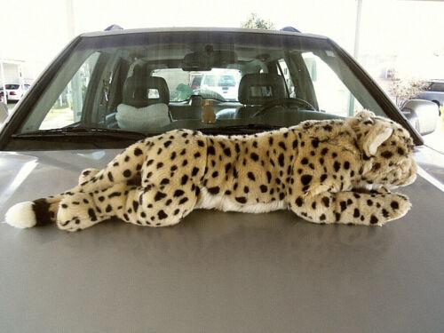 "FAO Cheetah Leopard Cat plush stuffed 26"""