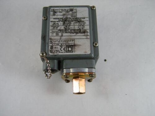SQUARE D PRESSURE SWITCH / INTERRUPTER TYPE GAW-2 CLASS 9012