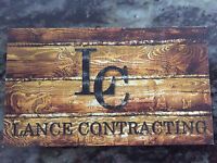 Lance. contracting