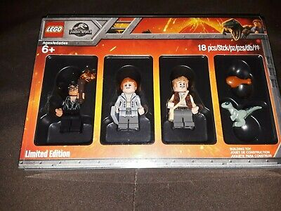 Lego Jurassic Park Mini Figures Limited Edition 18 Pieces NIB Jurassic World