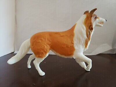 Breyer Lassie #323 Honey Collie Light Golden Chestnut White 1995-1996 Dog RARE