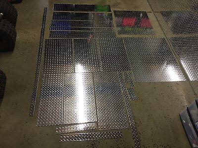 Aluminum Diamond Plate Sheeting Misc Sizes 116th Inch Located In Ne Pa.
