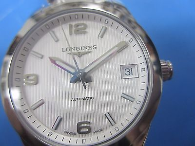 LONGINES WOMEN'S WATCH AUTOMATIC ALL S/S SAPPHIRE L23854766 NEW