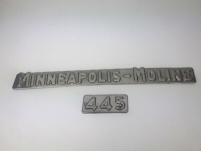 Minneapolis Moline 445 Tractor Decal - Free Shipping