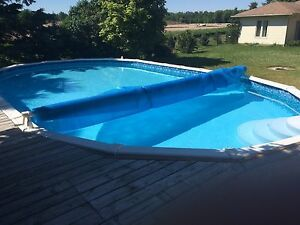 14x28 above ground pool and equipment