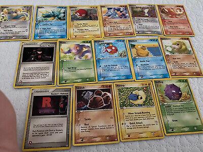 Ex Team Rocket Returns Lot Uncommon/Common X15 Cards NM/M