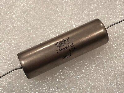 1x K40y-9 Pio Audio Capacitor Ussr 0.47uf 630v Nos