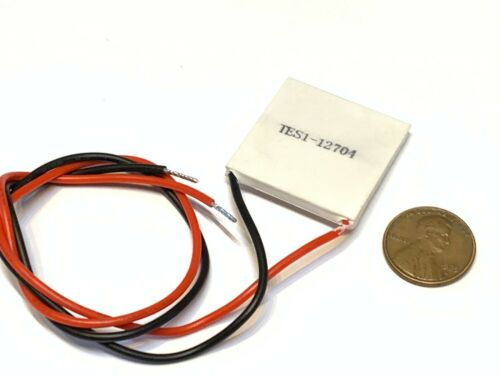 TES1-12704 12V Thermoelectric Cooler Cooling Peltier Plate Module 30 x 30mm B20
