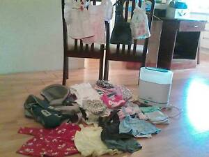 baby girl clothes, carrier & steriliser Brookdale Armadale Area Preview
