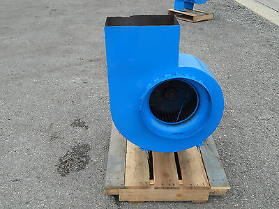 Squirrel Cage Blower 13-34 Inlet With Dayton Motor 2n937l 5hp 1760rpm