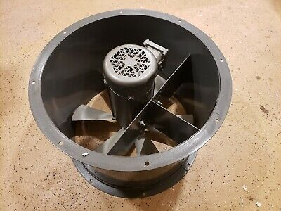 24 Inch Axial Explosion Proof Direct Drive Exhaust Fan With Baldor 115230 34hp