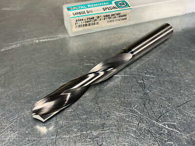Metal Removal 12.2mm Solid Carbide Jobber Drill
