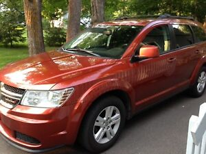 DODGE JOURNEY SE PLUS  with  BRIDGESTONE Winter tires  on Rims