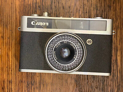 Canon Canonet Junior Film Camera 40mm For Parts or (Films For Juniors)
