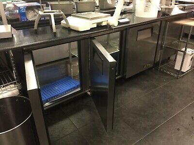 True Tssu-72-18 72 Triple Door Refrigerated Sandwich Prep Table 115 V