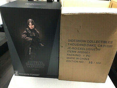 Sideshow Exclusive Star Wars Jyn Erso Premium Format 1/4 Statue Figure Rogue One