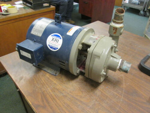 Flowserve Pump w/ Motor P02-001A Size:1.5X1.25X5 2000 5HP 230V 175GPM 53TDH Used