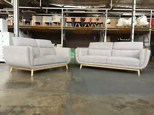 Brand New Fabric 3 AND 2 seater Package (2 colours) Granville Parramatta Area Preview