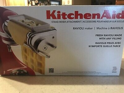 KitchenAid KRAV Stand Mixer Ravioli Maker Attachment