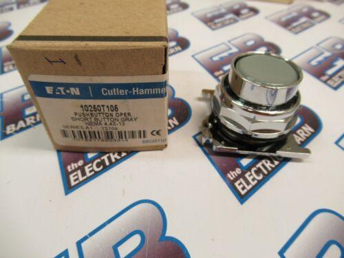 Cutler Hammer 10250T105, Series A1, Gray, Push Button Operator- NEW-B