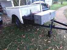 Dual cab trailer Mareeba Tablelands Preview