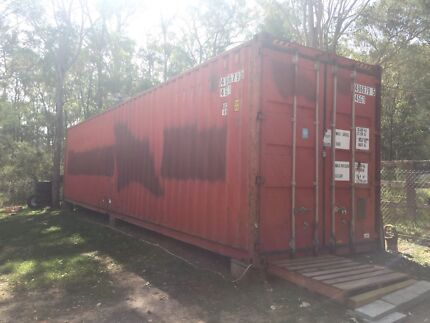 40ft High Cube Container. 12.2m x 2.4m x 2.7m(h) Glossodia Hawkesbury Area Preview