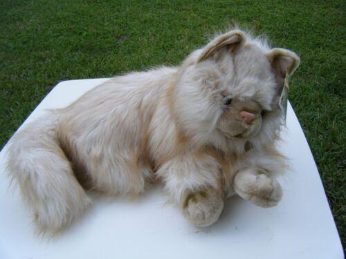 "Animal Alley Toys R Us 2000 Persian Cat Kitty Plush Stuffed Animal 25"""
