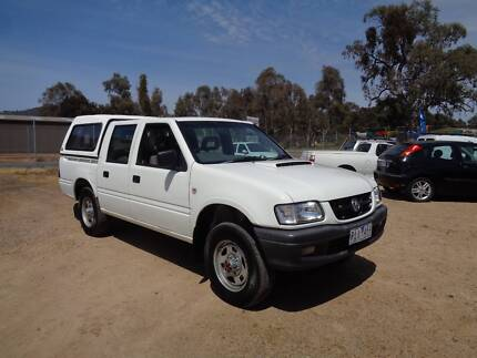 2001 Holden Rodeo TURBO DIESEL Ute Mansfield Mansfield Area Preview