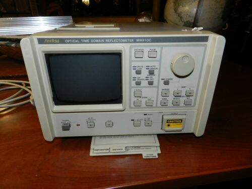 Anritsu MW910C / MH955A1 Optical Time Domain Reflectometer (OTDR) MT78663