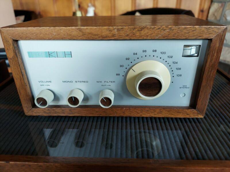 Vintage KLH Model  Eighteen 18 All Transistor FM Multiplex Tuner. Working Great