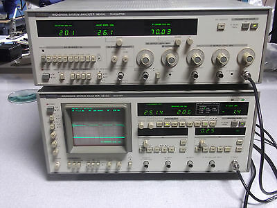 Anritsu Me453l Microwave System Analyzer Transmitter Only Opt 34.