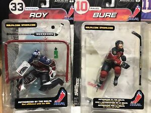 Mcfarlane Sportspicks Originals Roy, Bure, Joseph,Messier