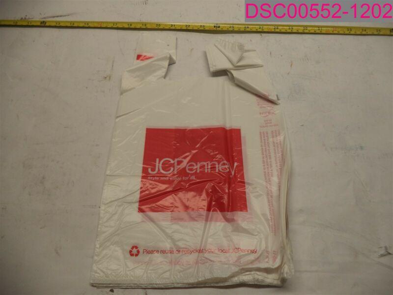 """QTY=2000; 9""""x6""""x16"""" Plastic Shopping Bag, T-Shirt Bag. JC PENNEY Style 1029698"""
