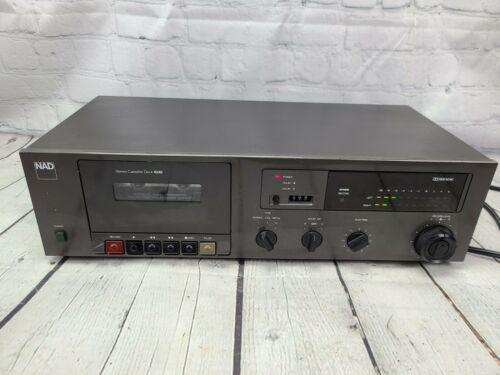 NAD Electronics 6240 Stereo Cassette Deck Player - Tested - Working