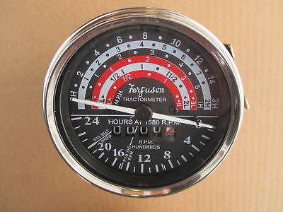 Tachometer Oem Style For Massey Ferguson Mf 35 To-35 Harris 50