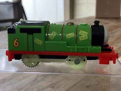Thomas The Tank Engine Trackmaster Midnight Mail Percy + Car - tested working