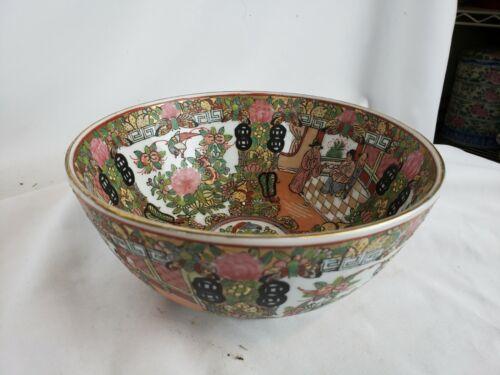 "Nice vintage chinese bowl, 8"""