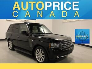 2011 Land Rover Range Rover Supercharged MOONROOF NAVIGATION ...