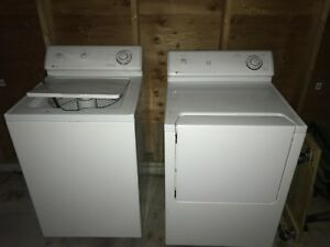 Free Maytag washer set, $100 for the dryer