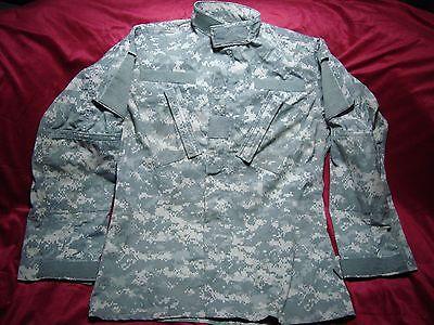 Army Combat Coat Uniform Shirt Small Long USGI Digital Camo Cotton/Nylon Ripstop